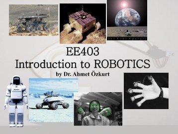Robot - Ahmet Özkurt's Homepage