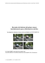 Report of the first RRT mobile reflectometers Belgium Sept ... - DELTA
