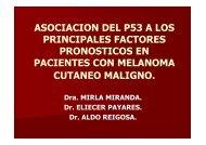 asociacion del p53 a los principales factores pronosticos ... - GMMM