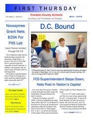 May 2009 - Franklin County Schools
