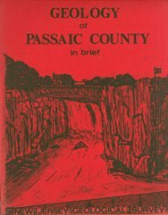 Geology of Passaic County in Brief - New Jersey Geological Survey