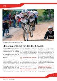 «Eine Supersache für den BMX-Sport»