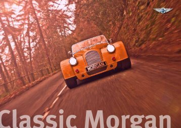 VIEW BROCHURE - The Morgan Motor Company