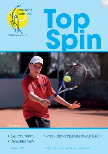 TopSpin 1/13 - Tennisclub Teufenthal