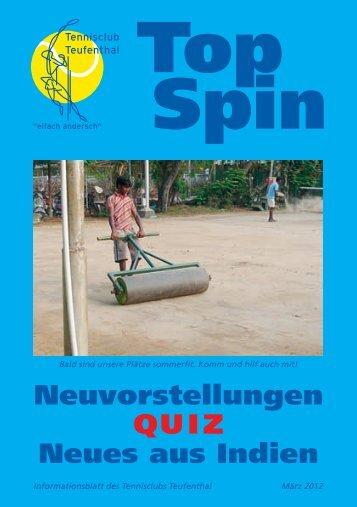 TopSpin 1/12 - Tennisclub Teufenthal