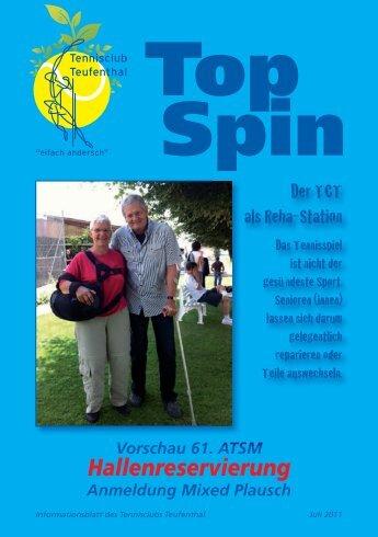 TopSpin 2/11 - Tennisclub Teufenthal