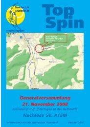 TopSpin 4/08 - Tennisclub Teufenthal