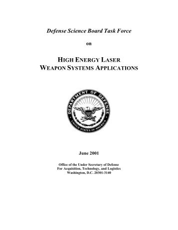 High Energy Laser Weapons Systems Applications - The Black Vault