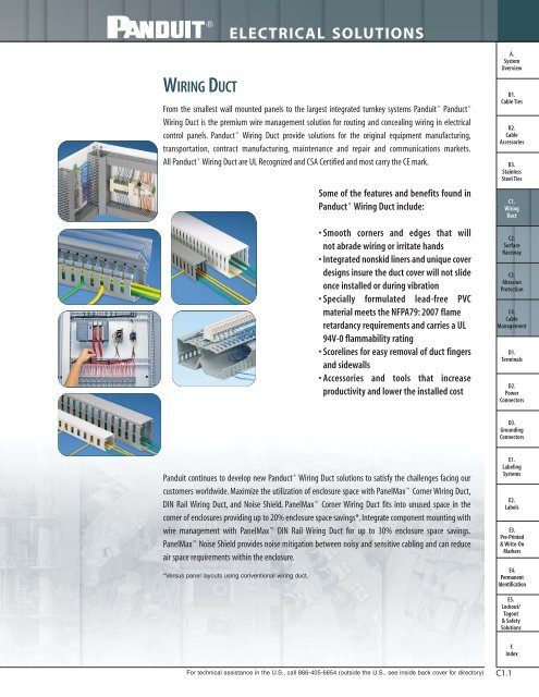 """3/"""" x 3/"""" G3X3BL6 Type G Panduit Panduct Wire Duct"""
