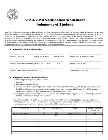 verification worksheet bluegreenish. Black Bedroom Furniture Sets. Home Design Ideas