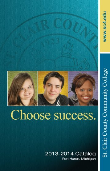 2013-2014 Catalog - St. Clair County Community College
