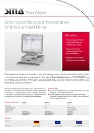 Smartcard Secured Workstation Without a Hard Drive Thin Client