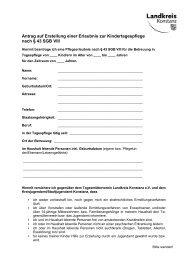 Antrag - Tagesmütterverein Lkr. Konstanz eV