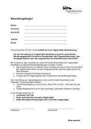 Bewerbungsbogen Kreis Konstanz - Tagesmuetterverein.info