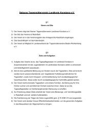 Satzung Tagesmütterverein Landkreis Konstanz e.V.