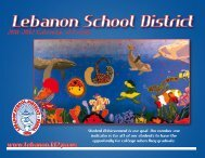 September - Lebanon School District