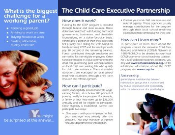 CCEP Brochure #2.pmd - Coordinated Child Care of Pinellas, Inc.
