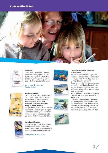 Informationen für Tagesmütter und Tagesväter - Unfallkasse Baden ...