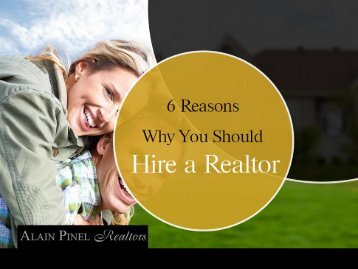 Why You Should Hire a Carmel Realtor