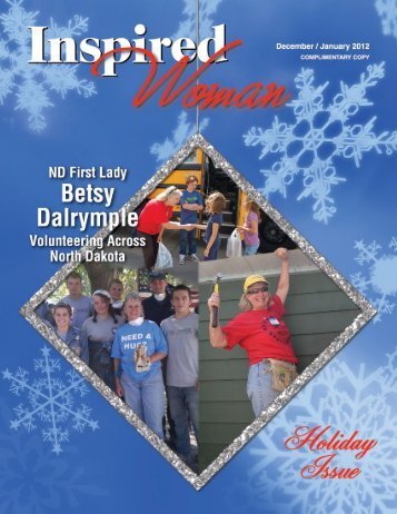 December January 2011/2012 - Inspired Woman Magazine