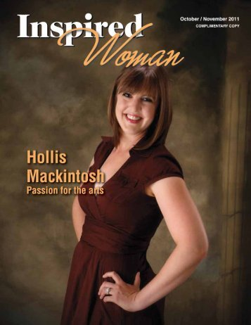 October November 2011 - Inspired Woman Magazine