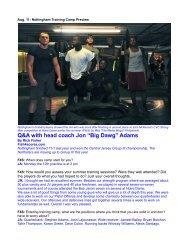 """Q&A with head coach Jon """"Big Dawg"""" Adams - Fish4Scores"""