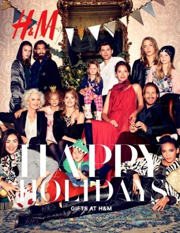 H&M catalogus 2015