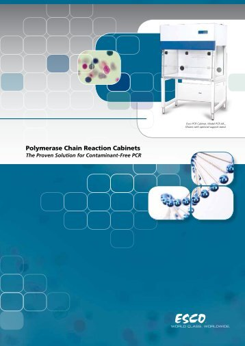 Polymerase Chain Reaction Cabinets - Esco