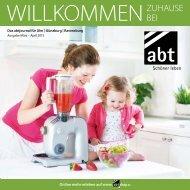 abt Journal, Ausgabe März-April 2015 - Willkommen Zuhause bei abt