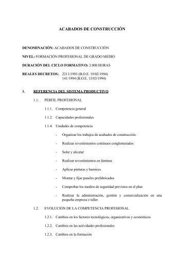 acabados de construcción - Consulta de Obligaciones Pendientes ...
