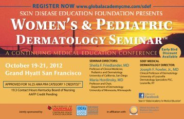 October 19-21, 2012 Grand Hyatt San Francisco - Global Academy ...