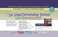 9th Annual Psoriasis Forum - Global Academy for Medical Education