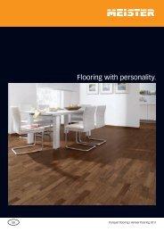 Flooring with personality. - Parchet de lux