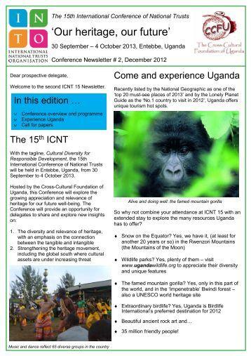 Our heritage, our future - Cross-Cultural Foundation of Uganda(CCFU)