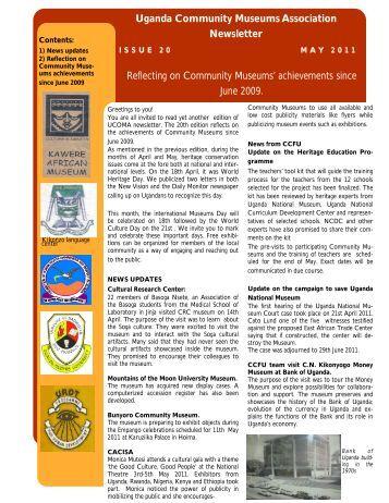 May, 2011 - Cross-Cultural Foundation of Uganda(CCFU)