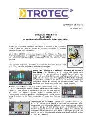 CP Trotec LD6000 - Blog Maetva Relations Presse