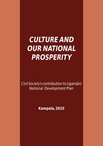 culture and our national prosperity - Cross-Cultural Foundation of ...