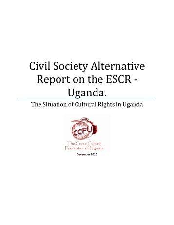 Cultural Rights draft 2 - Cross-Cultural Foundation of Uganda(CCFU)