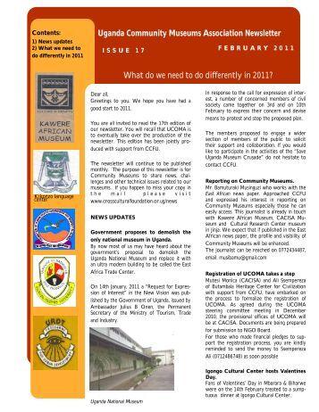 February, 2011 - Cross-Cultural Foundation of Uganda(CCFU)