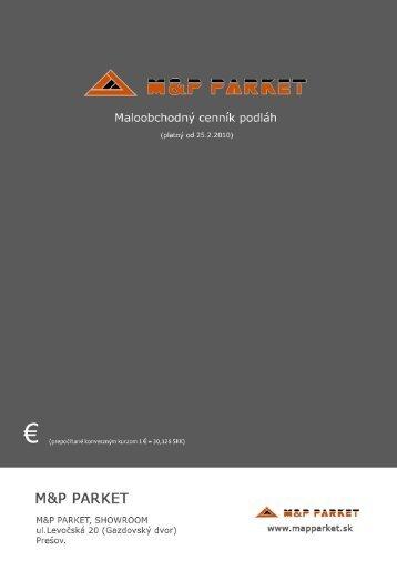 M&P PARKET - M & P parket
