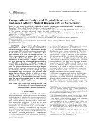 Computational design and crystal structure of an ... - ResearchGate
