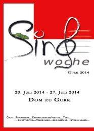 25. JULI 2010 - 1. AUGUST 2010 - Chormusik.at