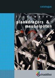 plankdragers & meubelpoten - Schadebo