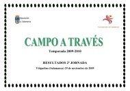Temporada 2009-2010 RESULTADOS 2ª JORNADA - Club Caja ...
