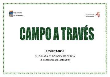 RESULTADOS - Club Caja Rural Atlético de Salamanca