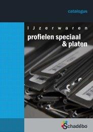 profielen speciaal & platen - Schadebo