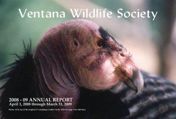 2009 Annual Report - Ventana Wildlife Society