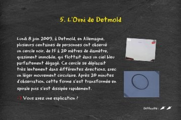 5. L'Ovni de Detmold