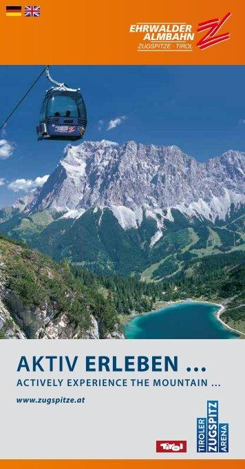 Sommer - Tiroler Zugspitzbahn