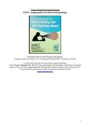 GIST: comprendere il referto del patologo - Associazione Italiana GIST